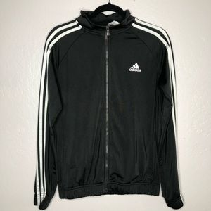 Adidas 3-Stripe Track Jacket Black Size M